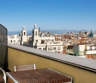 Double room terrace VINCCI CAPITOL  Madrid